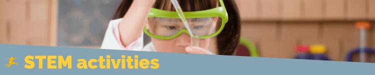 STEM Activities Header image