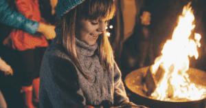 child at bonfire night