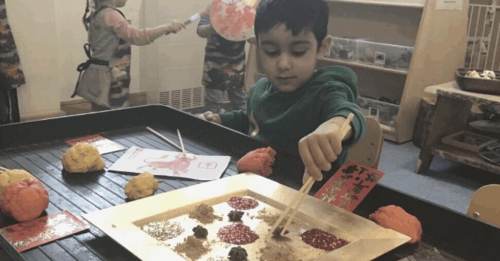 Child sensory activity