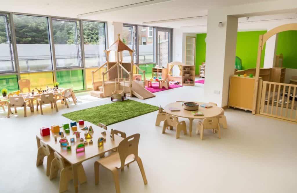 Wimbledon nursery room interior