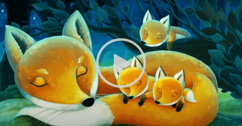Freddie the fox children's meditation stories