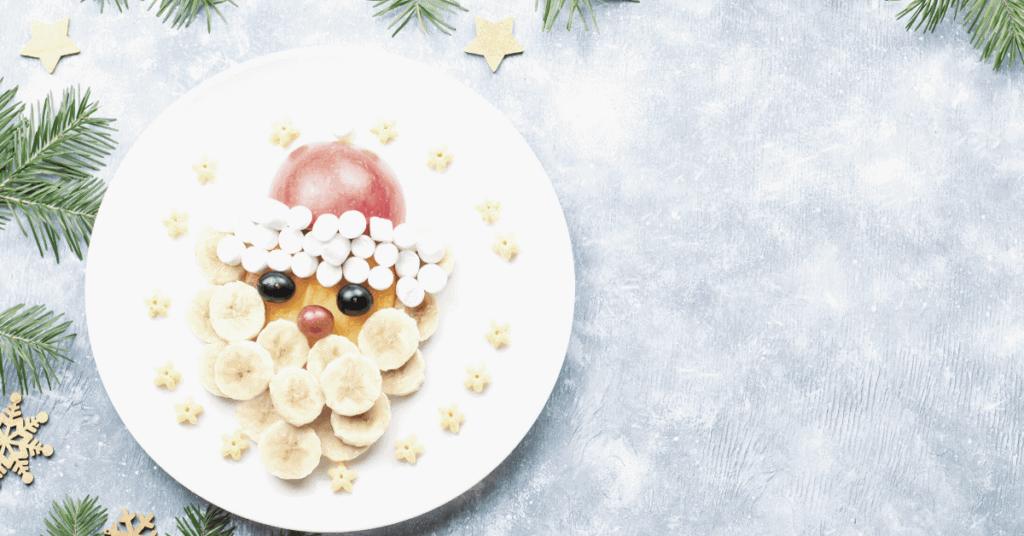 Santa Fruit Face