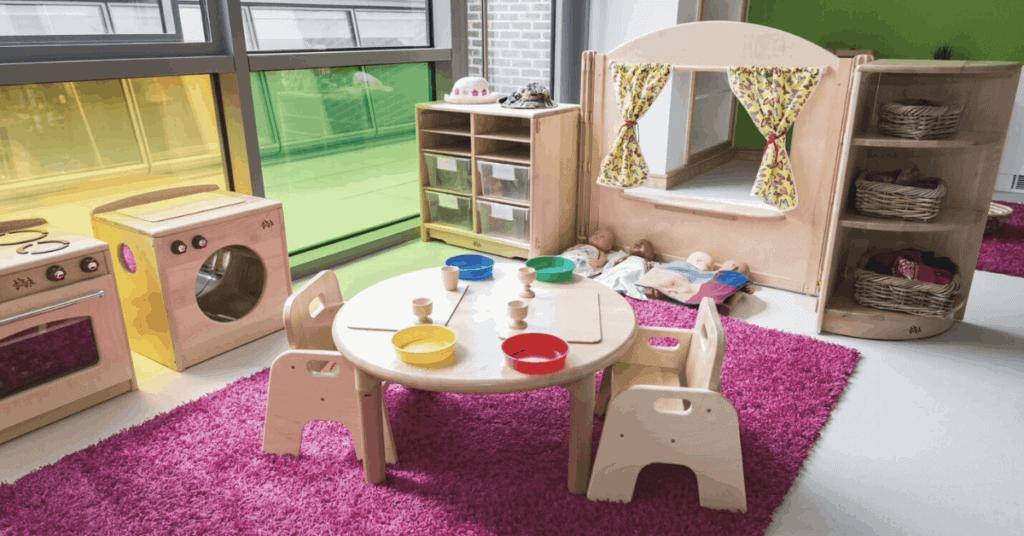 Fennies Oxted nursery interior