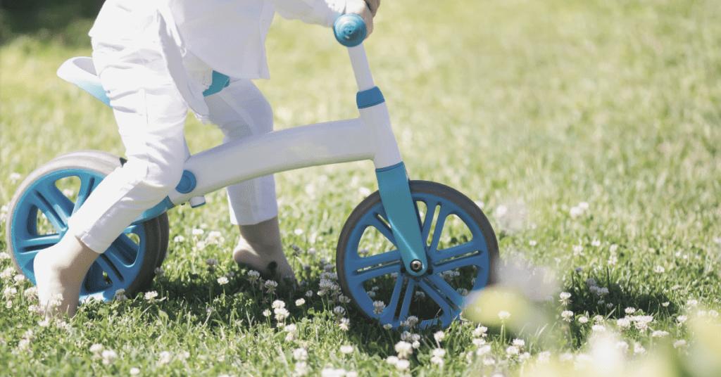 toddler riding bike