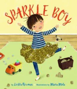 Sparkle Boy Book Cover
